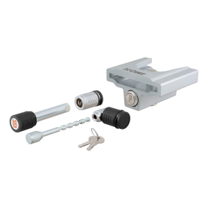 "1/4"" Coupler and Hitch Pin Lock Set - 2"" Receiver, 1/2"" to 2-1/2"" Latch, 1-7/8"" & 2"" Lip"