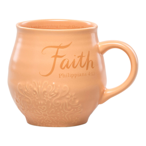 Faith Stoneware Coffee Mug