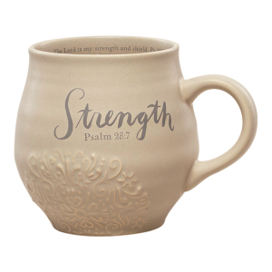 Strength Stoneware Coffee Mug