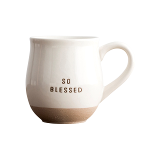 So Blessed Clay Dipped Ceramic Mug