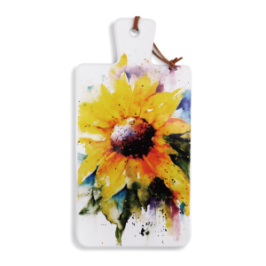 Sunflower Serving Board