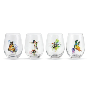 Nature Stemless Glass Set