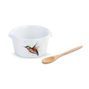 Hummingbird Appetizer Bowl with Spoon