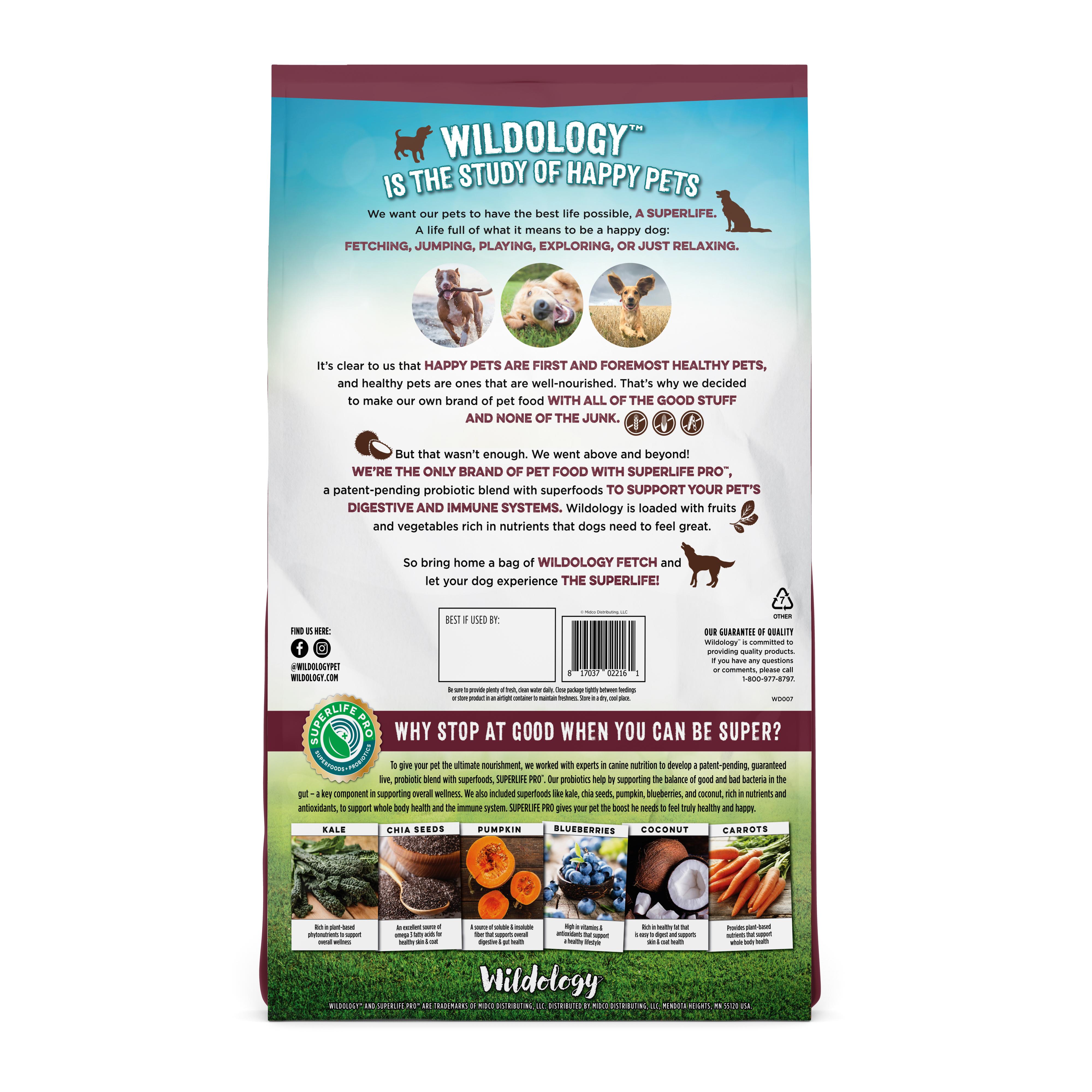 Murdoch's – Wildology - Fetch Beef & Rice Dog Recipe