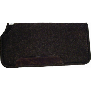 Wool Pad with Wear Leathers