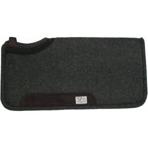Wool Pad with Wear Leathers - Cutback