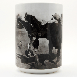 Sharkey the Famous Bucking Bull Mug