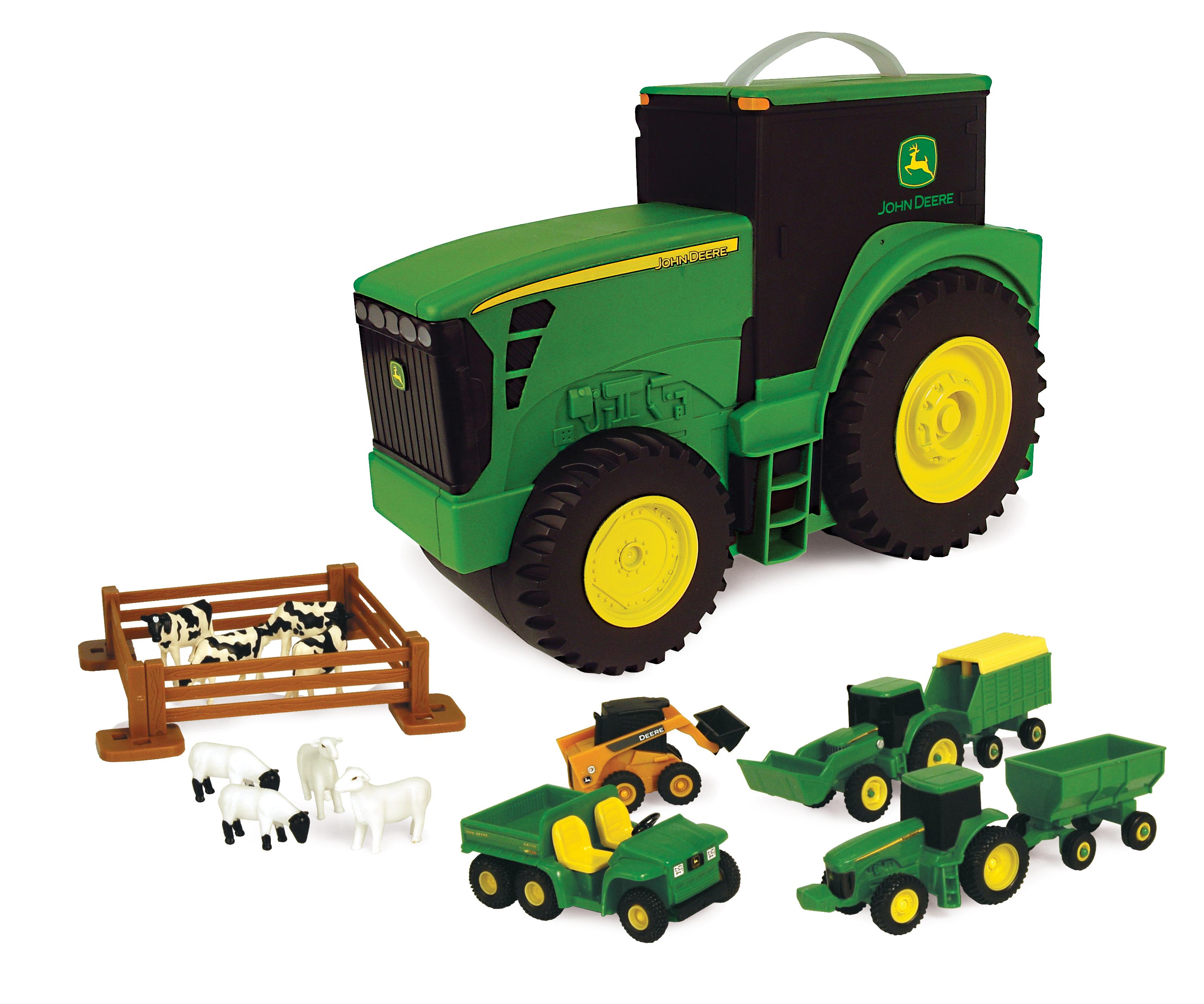 Трактор детский мир