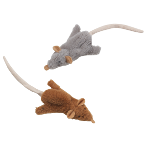 Skinneeez Mouse Cat Toy with Catnip - Assorted