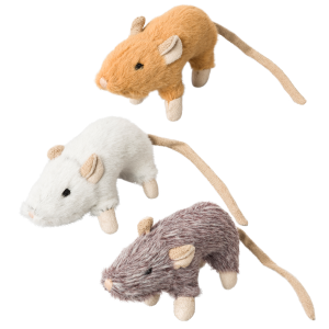House Mouse Helen Cat Toy with Catnip - Assorted