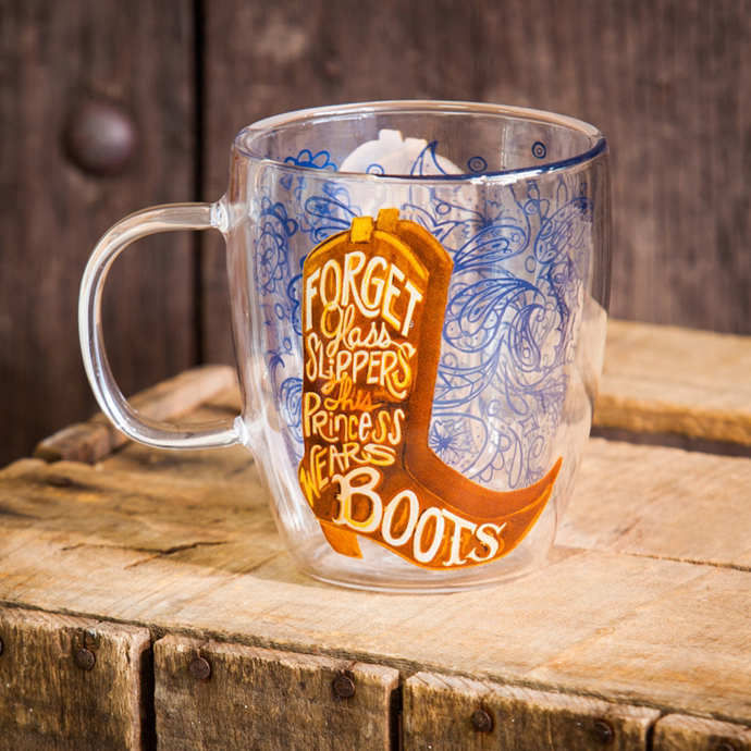 Murdoch S Cypress Home This Princess Wears Boots Coffee Cup