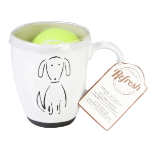 Pet Dog Ceramic Cup Gift Set