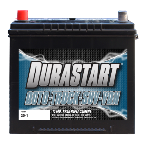 25-1 - Auto/Truck/SUV 12 Volt Battery