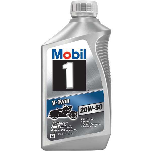 V-Twin 20W-50 Motorcycle Oil