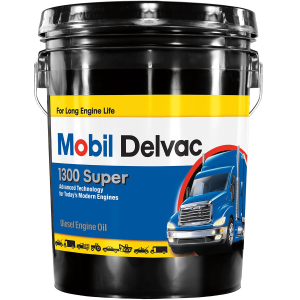 Delvac 1300 Super 15W-40 Heavy-Duty Diesel Engine Oil