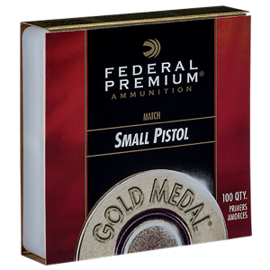 Gold Metal Small Pistol Match Primers