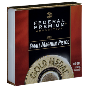 Gold Metal Small Magnum Pistol Primers