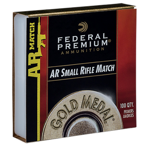 Gold Metal Small Rifle AR Match Primers