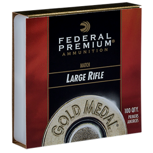 Gold Metal Large Rifle Match Primers