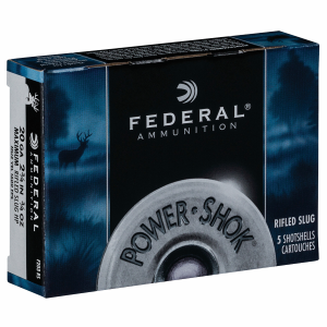 "Power-Shok 20 Gauge 2-3/4"" Shotshell 3/4 oz Rifled Slug"