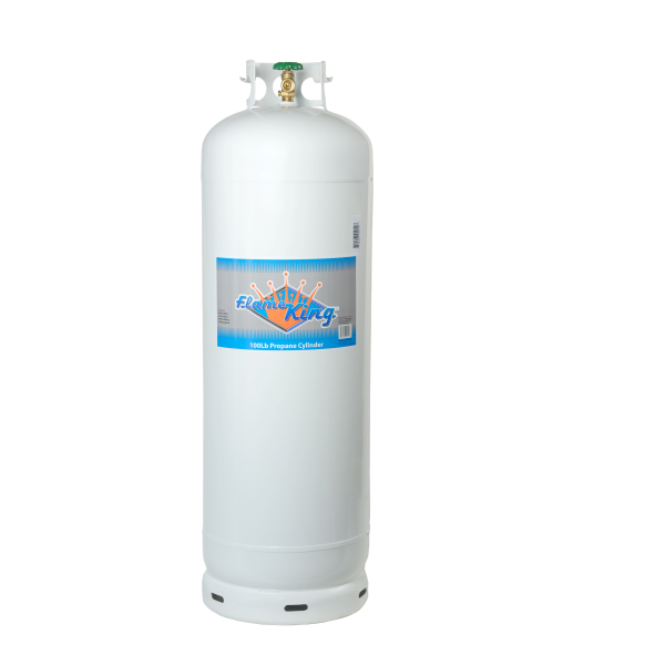 Hook up 100 lb propane tank