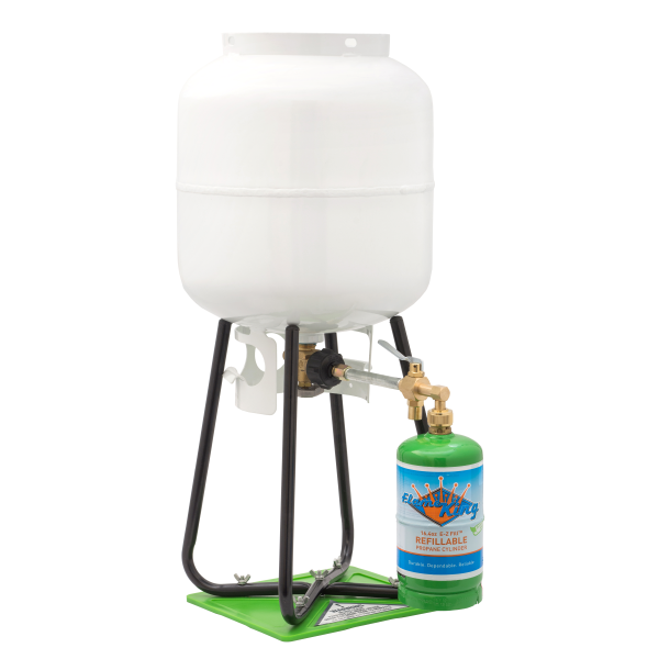 1 LB Propane Cylinder and Refill Kit