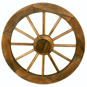 Double Hub Wagon Wheel