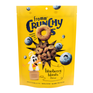 Crunchy Os Blueberry Blasts Dog Treats