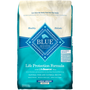 Life Protection Natural Fish and Oatmeal Dog Food-Large Breed Adult