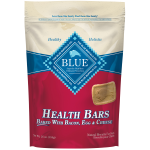 Bacon, Egg & Cheese Health Bars Dog Treats