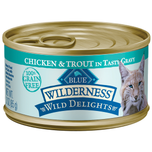 Wild Delights Chicken & Trout Cat Food