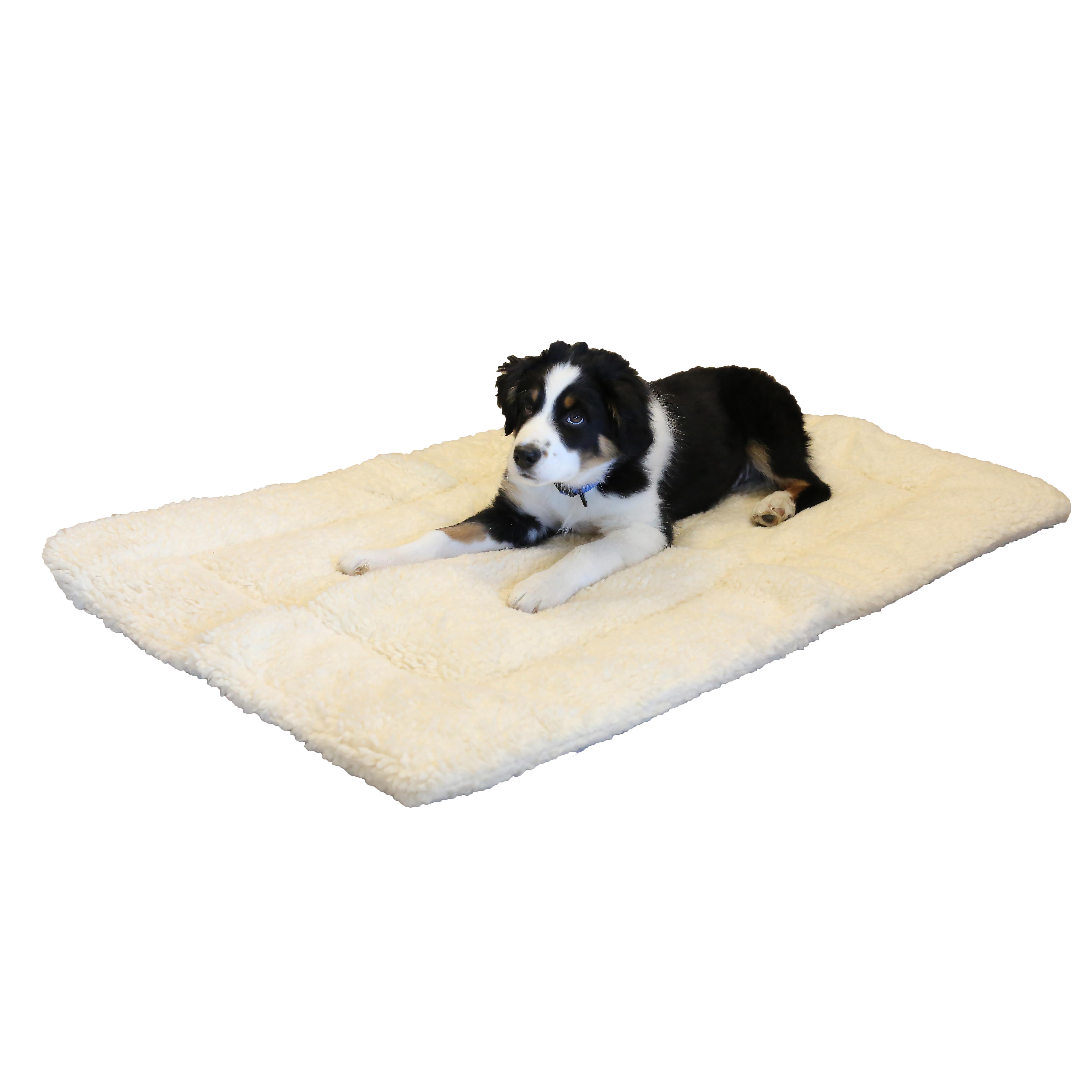 Sherpa Nap Mat Dog Crate Mat