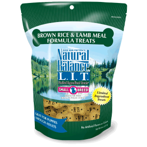 Limited Ingredients Treats Biscuits - Brown Rice & Lamb Meal Formula
