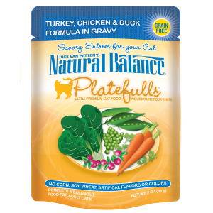 Platefulls Turkey, Chicken & Duck Formula in Gravy Cat Food