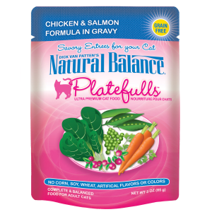 Platefulls Chicken & Salmon Formula in Gravy Cat Food