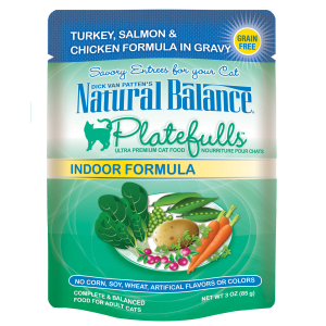 Platefulls Indoor Turkey, Salmon & Chicken Formula in Gravy