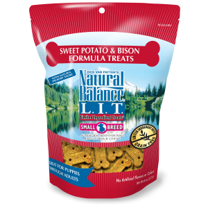 Sweet Potato & Bison Meal Formula Small Breed Dog Treats