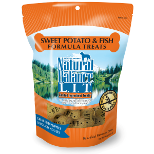 Sweet Potato & Fish Formula Dog Treats