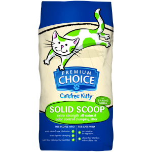 Solid Scoop Cat Litter