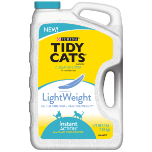 Light Weight Instant Action Clumping Cat Litter