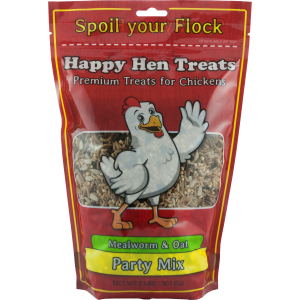 Party Mix - Mealworm & Oat Hen Feed