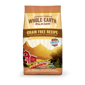Grain Free Salmon and Whitefish Dry Dog Food Recipe