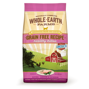 Grain Free Healthy Kitten Dry Food Recipe