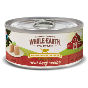 Grain Free Real Beef Pate Canned Cat Food Recipe