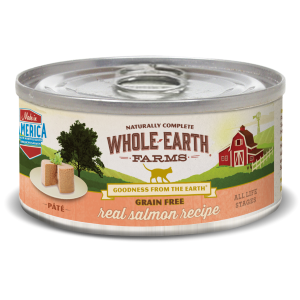 Grain Free Real Salmon Pate Canned Cat Food Recipe