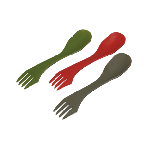 3-in-1 Camping Spork - Assorted Colors
