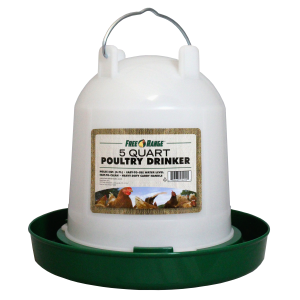 5 Quart Poultry Waterer