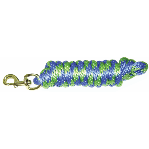 Lead Rope with Bolt Snap-Stripe