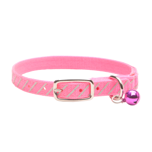 Safety Cat Collar with Reflective Hash Marks
