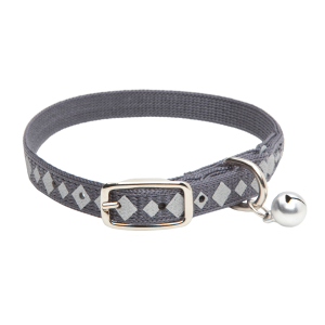 Safety Cat Collar with Reflective Diamonds